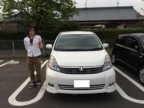☆H様 トヨタ アイシス  御納車!!!☆