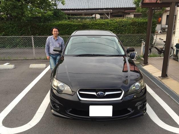 ☆B様 スバル レガシィツーリングワゴン 御納車!!!☆