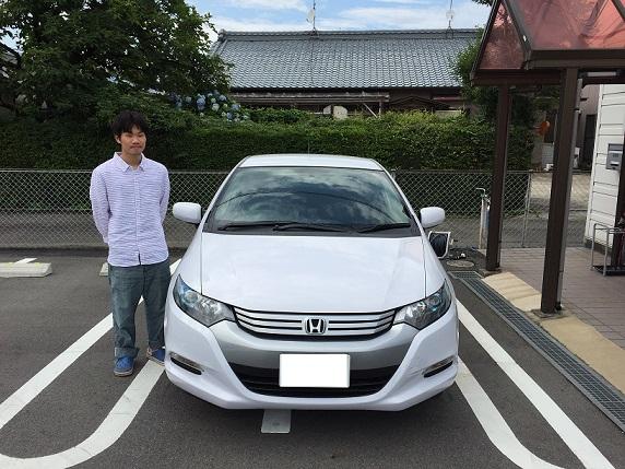 ☆G様 ホンダ インサイト  御納車!!!☆