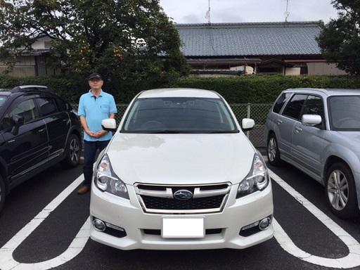 ☆Y様 スバル レガシィツーリングワゴン 御納車!!!☆