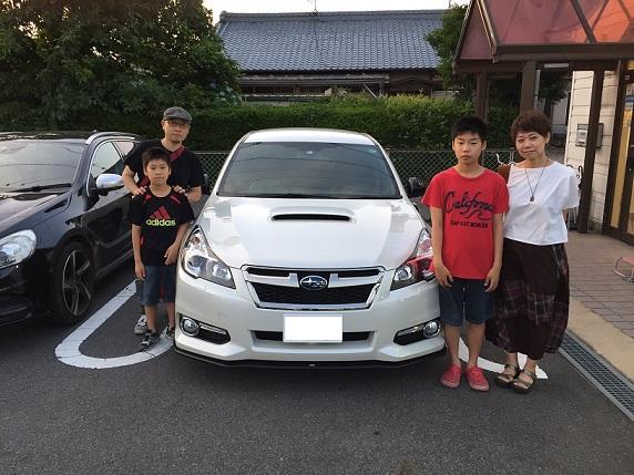 ☆G様 スバル レガシィツーリングワゴン ご納車!☆