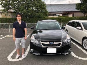 ☆S様 レガシィツーリングワゴン ご納車☆春日井店