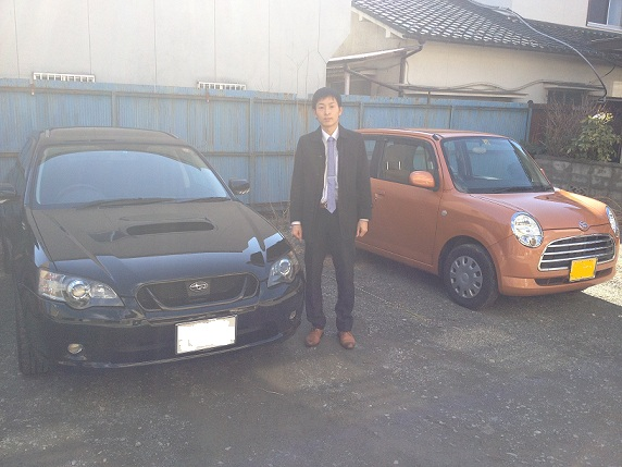 ☆ I様 レガシィツーリングワゴン 御納車!! ☆