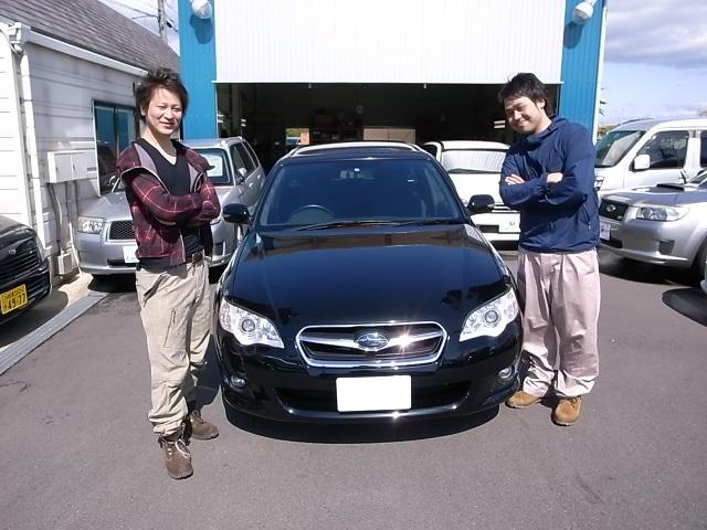 ☆ M様 レガシィツーリングワゴン 御納車!! ☆