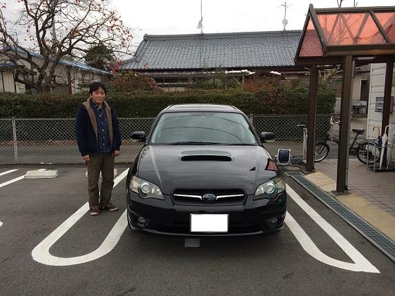 ☆S様 スバル レガシィツーリングワゴン 御納車!!!☆