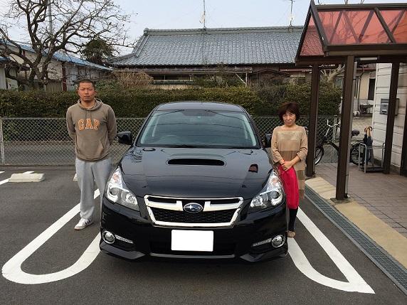 ☆M様 スバル レガシィツーリングワゴン 御納車!!!☆