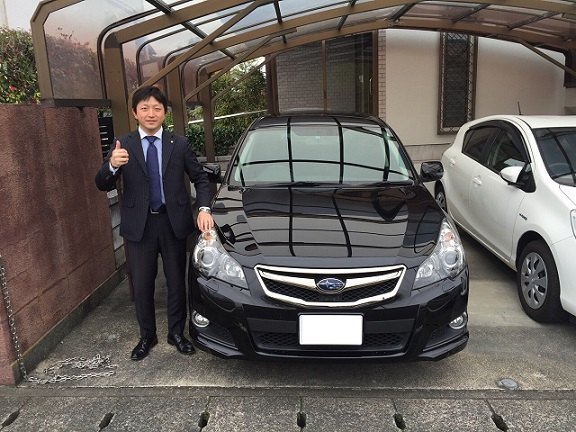 ☆T様 スバル レガシィツーリングワゴン 御納車!!!☆