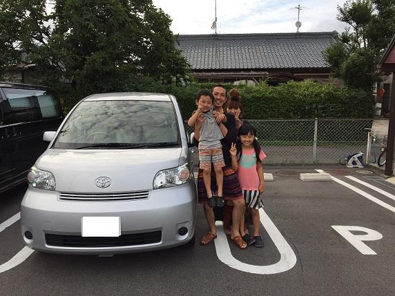 ☆H様 トヨタ ポルテ  御納車!!!☆