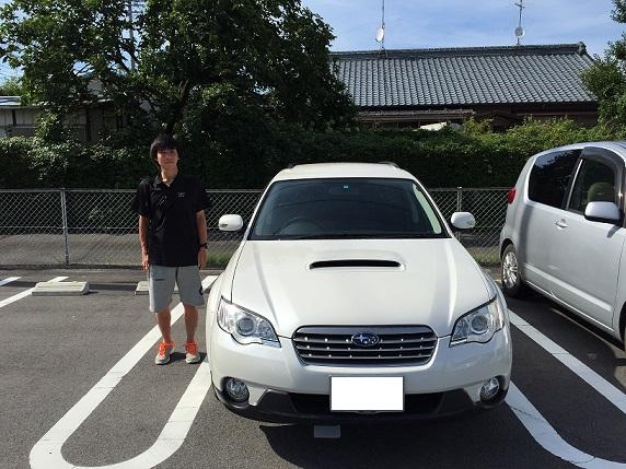 ☆G様 スバル アウトバック 御納車!!!☆