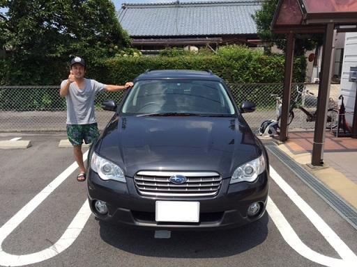 ☆A様 スバル アウトバック 御納車!!!☆
