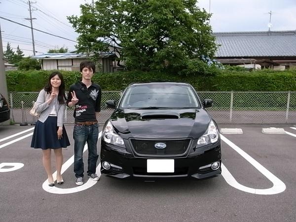 ☆★K様 レガシィツーリングワゴン御納車!!★☆