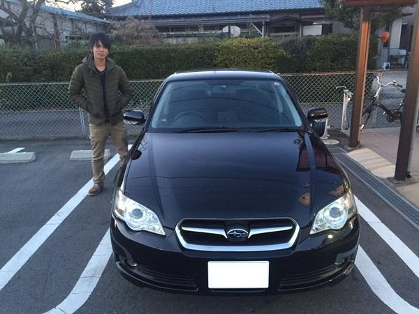 ☆★K様 レガシィB4御納車!!★☆